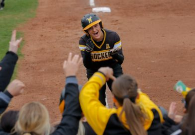 PHOTOS: WSU Softball Sweeps UCF